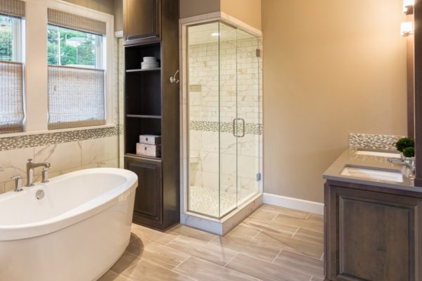 Custom Bathroom Remodeling Idea