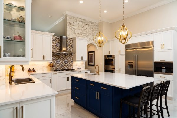 2019 Colored Kitchen Cabinet Trend